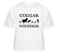 Cougar Animal Whisperer T Shirt