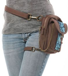 Pepper Canvas Holster Pack Thigh Holster Protected by WCCouture Thigh Bag, Gun Holster, Biker Girl, Backpack Purse, Purses And Bags, Thighs, Fanny Pack, Fashion Accessories, Creations