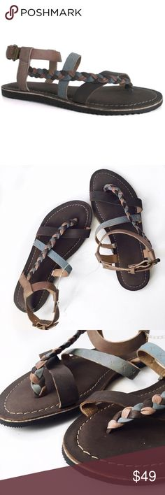 ➡️New Matisse Charcoal Mystery Leather Sandals⬅️ A strappy design underscores the chic flair of these boho lovelies. Their buckle closure enhances your ideal fit.  Buckle closure Leather / man-made upper Man-made lining Man-made sole 💕Offers welcome. Take 30% off your entire purchase automatically at checkout when you use the bundle feature, or make an offer for your bundle. Happy Poshing!💕 Matisse Shoes Sandals