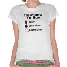 Reasons To Run Shirts