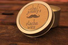 Chef Jimmy's Stache Wax (2 oz.). $10.00, via Etsy.