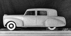Lincoln scale model 1939