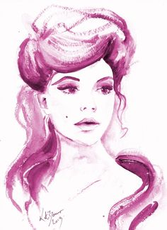 """One Fine Day 8.5 x 11"""" Print of watercolor Illustration on Etsy, $25.00"""