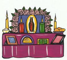 Diary of a Crafty Chica™: DIA DE LOS MUERTOS CRAFT: How to Make a Dia de los Muertos Altar