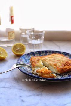 Feta Saganaki (Fried Feta Cheese) by My Little Expat Kitchen