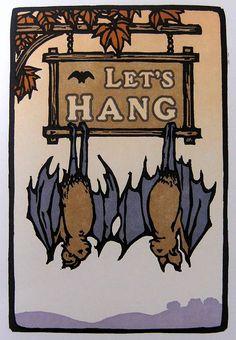 """Let's Hang!"" Original design by Yoshiko Yamamoto"