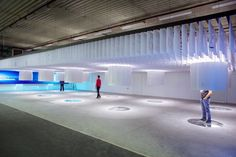 Adris Pavilion at WMF by Brigada, Rovinj Croatia exhibit design Exhibition Display, Exhibition Space, Exhibition Stands, Rovinj Croatia, Street Marketing, Guerrilla Marketing, Design Museum, Exhibit Design, Booth Design