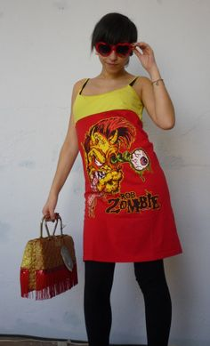 Hey, I found this really awesome Etsy listing at https://www.etsy.com/listing/189224625/rob-zombie-dress