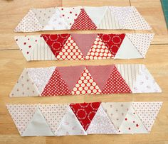 Triangle star quilt block tutorial - Diary of a Quilter - a quilt blog