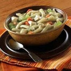 Ream's Noodles Classic Chicken Noodle Soup @keyingredient #soup #chicken