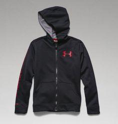 Boys' UA Storm Armour® Fleece MagZip™ Hoodie