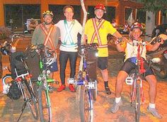 Audax 2008 200km Porto Alegre.Olavo Ludwig, Artur Elias,Raul Sanvicente, Edimar Silva