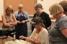 Myself teaching at Bead and Button in Milwaukee Wisconsin.