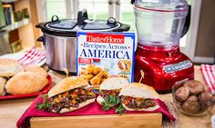 Home & Family - Recipes - Chicago-Style Beef Sandwiches | Hallmark Channel