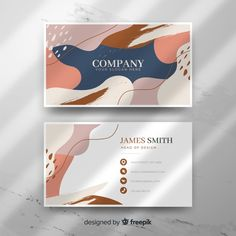 Discover thousands of copyright-free vectors. Graphic resources for personal and commercial use. Thousands of new files uploaded daily. Free Business Card Templates, Business Card Design, Business Cards, Creative Business, Packaging Design, Branding Design, Corporate Design, Identity Branding, Brochure Design