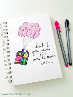 up house inspired layout Adventure awaits! It was an amazing movie with so much creatitvity! How could we not want use use those 17 up house inspired bullet journal. Bullet Journal Quotes, Bullet Journal Notebook, Bullet Journal Ideas Pages, Bullet Journal Inspiration, Bullet Journals, Bullet Journal Travel, Doodle Quotes, Drawing Quotes, Lyric Drawings