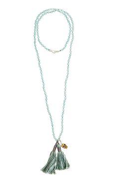 Enchanting Silk Tassel Necklace