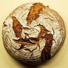 Rezept | Roggenbrot | Sauerteig | Roggensauerteigbrot | selbstgemacht |Brot backen