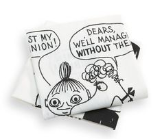of new Moomin kitchen towels. Spice up your kitchen with these kitchen towels and make them a part of the decoration. The Moomin-towels are inspired by T Tove Jansson, Scandinavian Living, Nordic Design, Kitchen Towels, Spice Things Up, Kitchenware, Bed Pillows, Branding Design, Give It To Me