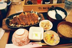 Tonkatsu Teishoku by The Paper Crane, via Flickr