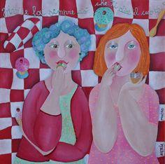Alexia Molino - Vivi e fai sempre ciò che ti dice il cuore (40x40)