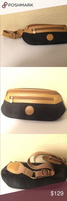 Vintage Fendi Fannypack Fendi fanny pack in excellent vintage condition. Fendi Bags Laptop Bags