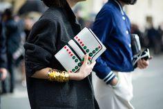 Street Style | PFW F/W 2014 - Leandra Medine and Eva Chen