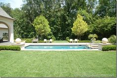 """""""Things That Inspire"""" blogspot shares another view of this pool!"""