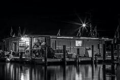 Captain Cady's  Bait Shop in Rockport, Texas. ~ Photo by: Stephen Fisher Photography
