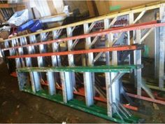 Ladders and roof racks (Copiague/malverne ) Copiague - New York Ads Folding Ladder, Tools For Sale, Ladders, Ads, York, Stairs, Staircases, Ladder, Stairways