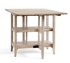 Alice Gateleg Storage Dining Table
