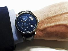 Glashütte Original PanoMaticLunar 2015 new blue dial