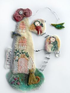 contemporary textile art by Sara Lechner