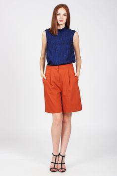100% POLIESTER Cos, Bermuda Shorts, Women, Fashion, Moda, Women's, Fashion Styles, Woman, Fasion