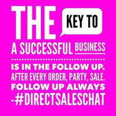 For a stable direct sales business, you must follow up with your customers. Wait 2 days after delivery and call to see if they loved their order.