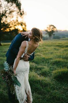 chilled paddock wedding in the Byron Bay hinterland Bride Portrait, Wedding Portraits, Wedding Night, Dream Wedding, Farm Wedding Dresses, Byron Bay Weddings, Luxury Wedding Venues, Wedding Inspiration, Wedding Ideas