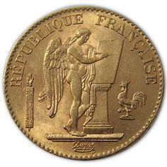 French 20 Franc Angels are totally private when you buy and when you sell. Unlike other Gold Coins, they can be bought and sold without invasive paperwork. Federal Statutes list all Foreign Gold Coins minted before 1959 to be rare and unusual. Coins that fall into this special status give you greater protection from Government confiscation. Fractional Gold Coins like the French 20 Franc Angels would be ideal for barter too…