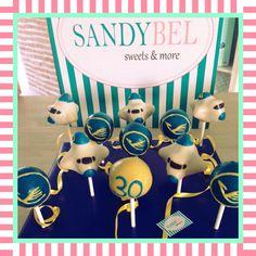 Lufthansa Cake Pops zum Geburtstag by #sandybel #soweet #lufthansa