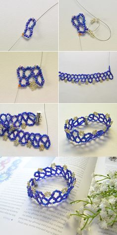 seed beaded bracelet, beautiful, right? LC.Pandahall.com will release the tutorial soon.