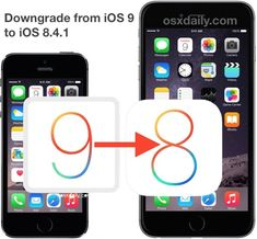 How to downgrade iOS 9 to iOS 8.4.1