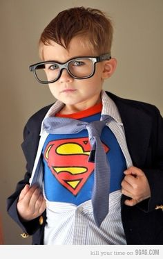 "hand out ""secret identity"" glasses to the kids in their invites ""super heroes only - but protect your identity"""