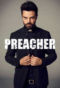 Preacher what am I going to do for the next three weeks 'Till walking dead? Preacher Amc, The Preacher, Movies Showing, Movies And Tv Shows, Series Movies, Tv Series, Dominic Cooper, Me Tv, Favorite Tv Shows