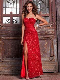 Full Length Beaded Gown by Shail K., $280, shailkusa.com