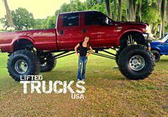 Having A Lifted Truck That's Bigger Than You.. Coolest Thing Ever.