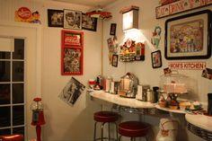 Our diner kitchen