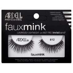 befc3d29fe5 Ardell Fauxmink Eyelashes #812 Ardell Wispies, Demi Wispies, Ardell Lashes,  Gel Nails