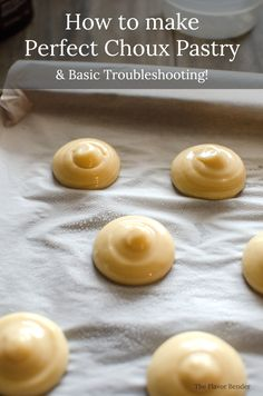 three flavors choux one recipe three variations dailydelicious sweetened