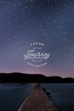 Focus on the journey not the destination.  #madewithover