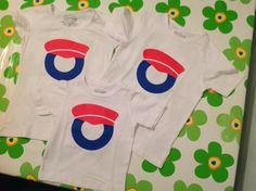 Zelfgemaakte t-shirts voor mijn kids