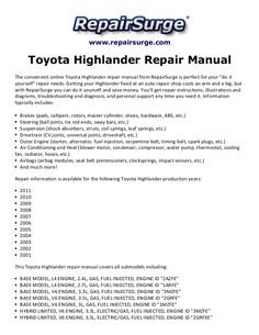 How to install replace fuel pressure regulator 53l 2003 04 gmc 2013 toyota highlander hybrid iboard running board side steps iboard running boards fandeluxe Image collections
